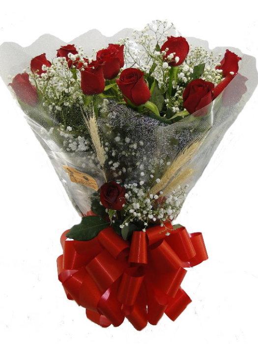 BOUQUET de 12 Rosas Nacionais