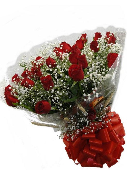 BOUQUET de 24 Rosas Nacionais