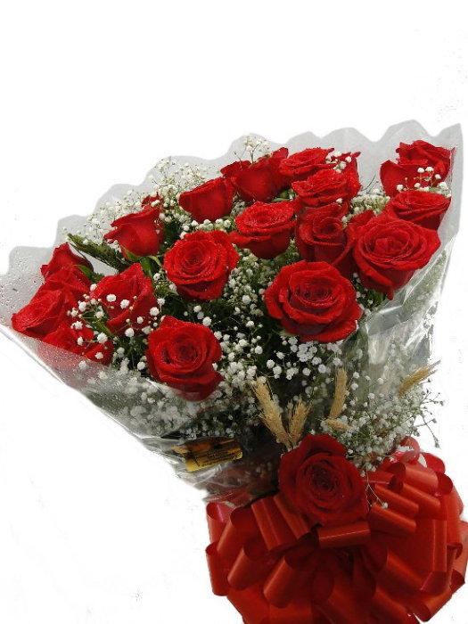 BOUQUET de 18 Rosas Importada