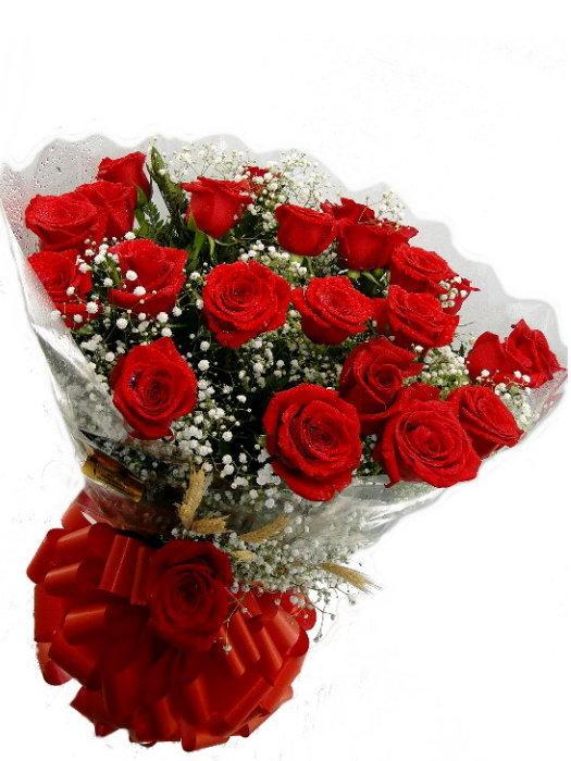 Bouquê de 24 Rosas Importadas