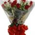 BOUQUET de 12 Rosas vermelhas Nacionais